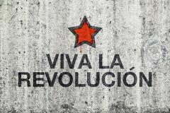viva-la-revolucion-graffiti-gray-cement-street-wall-revolution-concept-51445640